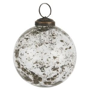 Julekugle klar glas