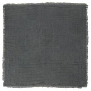 Stofserviet mørkegrå