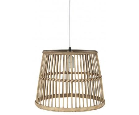 Lampe m/bambusskærm
