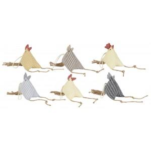 Påskehøne - grå