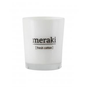 Meraki Duftlys - Fresh cotton