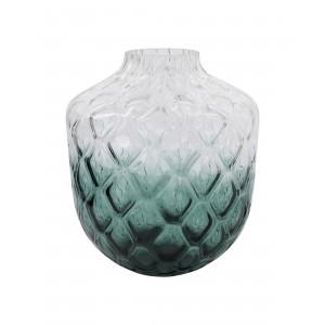Vase, Art Deco - Grøn