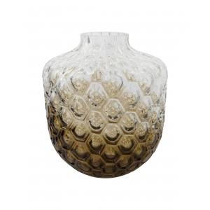 Vase, Art Deco - Brun