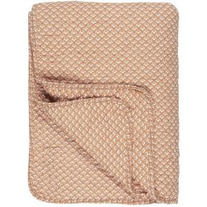Quilt tæppe - sunset m/hvidt mønster