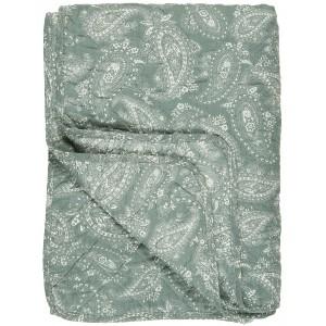 Quilt tæppe - støvgrøn