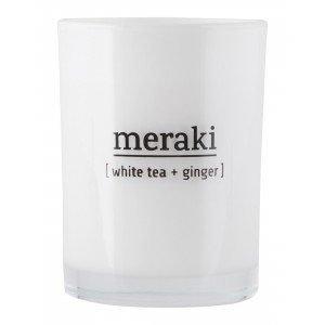 Meraki Duftlys - White tea & ginger