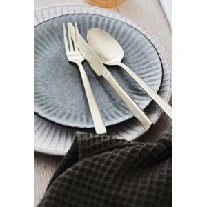 Middagstallerken, Birch - grå