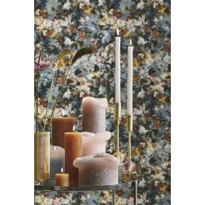 Rustic lys - amber H: 15 cm