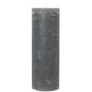 Rustic lys - antracit H: 35 cm