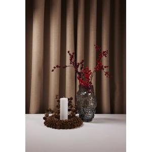 Vase m/form - grå
